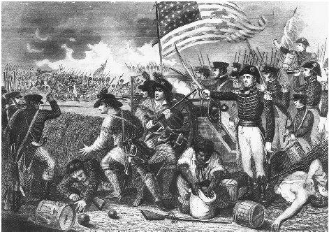 General Andrew Jackson's victory over the British at the Battle of New Orleans in 1815 catapulted him to national fame and a future in politics. BETTMANN/CORBIS