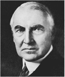 Warren G. Harding THE LIBRARY OF CONGRESS